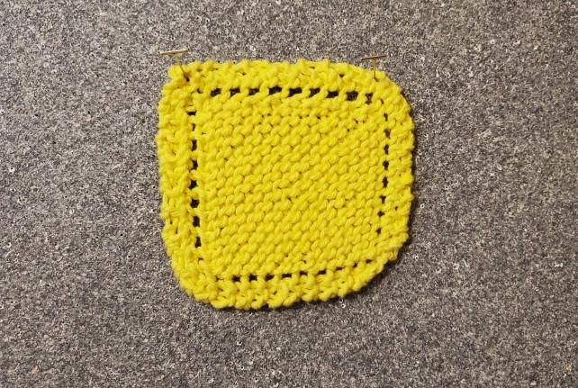 Bernat Lemon Drop Scrubbie